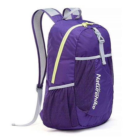 MOCHILA FOLDING BAG 22L ROXO NATUREHIKE