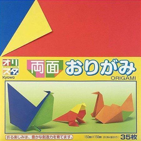 Papel P/ Origami 15x15cm (KOW-002) - 414053 -10115-200 (35fls)
