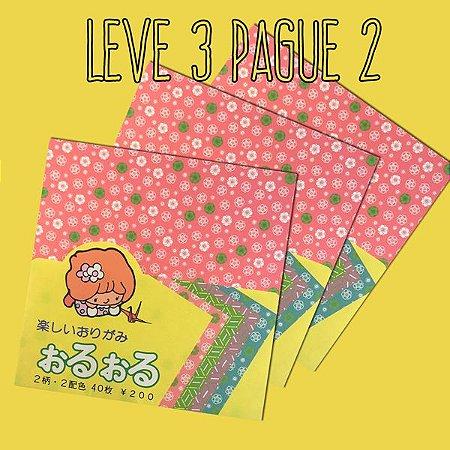 Papel P/ Origami Chyogami Oru-Oru - Suzuki (40fls) - Leve 3 Pague 2