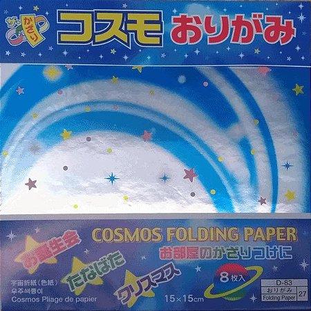 Papel p/ Origami 15x15 Cosmos Folding Paper (8fls)