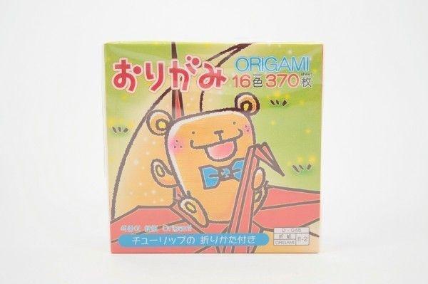Papel P/ Origami 7,5x7,5cm D-045 E-2 (370fls)