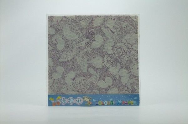 Papel P/ Origami 15x15cm Estampado Dupla Face P-024-9 (10fls)