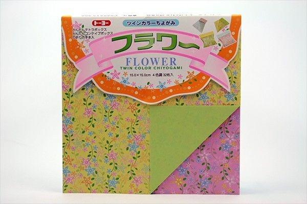 Papel P/ Origami Flower Toyo (32fls)