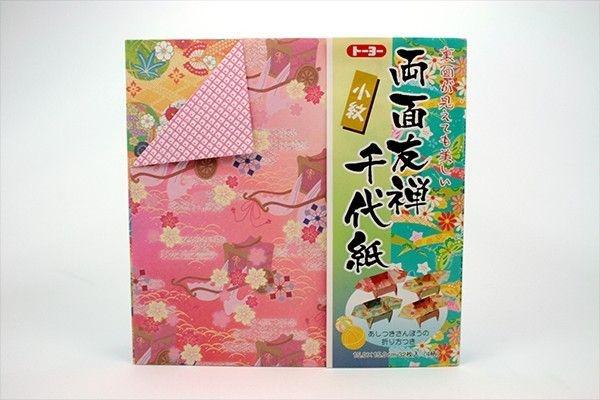 Papel P/ Origami Yuzen Ryomen - Toyo (32fls)