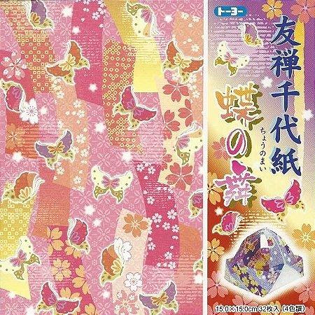 Papel P/ Origami 010043-200 - Toyo (32fls)
