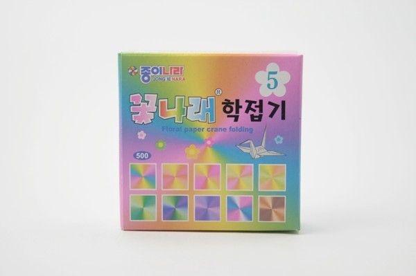 Papel P/ Origami 5x5cm EA15K1 Floral Paper 5 342 (100fls)