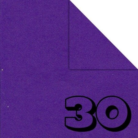 Papel P/ Origami 15x15cm Liso Dupla Face Roxo AC11Y4-9 (30fls)