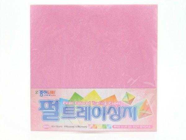 Papel P/ Origami 15x15cm Perolizada Dupla-face (10fls) CQ22K1 266