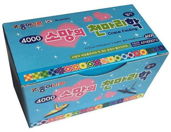 Papel P/ Origami 5x5cm Face única Crane Folding AFN00072/EF30K301 (1000 Fls)