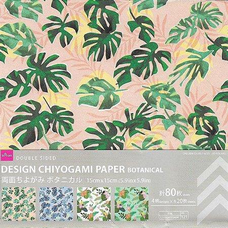 Origami Chiyogami Botanical Daiso (80fls)
