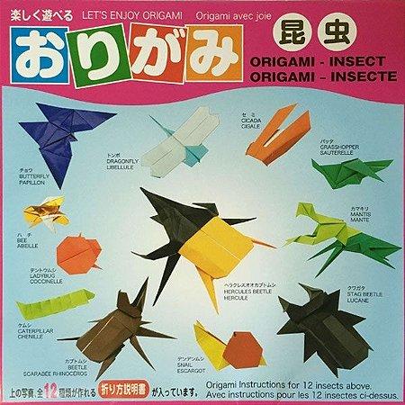 Papel P/ Origami 15x15cm Insetos ISM300 (50fls)