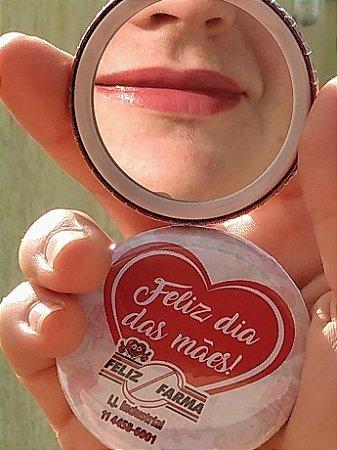 Espelho de bolso Ø 5,5cm Personalizado
