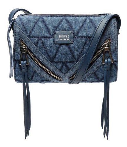 Bolsa Schutz Pequena Azul Jeans - S5001813910001