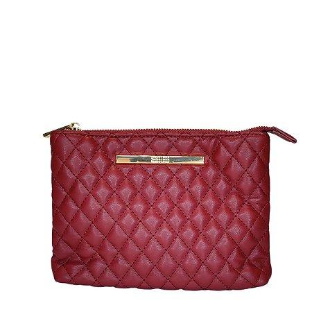 Bolsa Santa Lolla Matelasse Pequena Beterraba - 04702E7A00890169