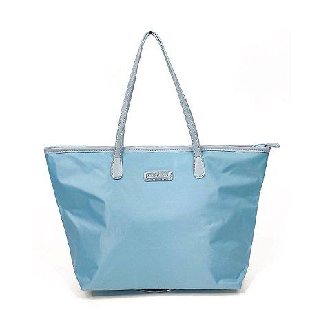 Bolsa Santa Lolla Nylon Azul Claro - 45925D9004201C3