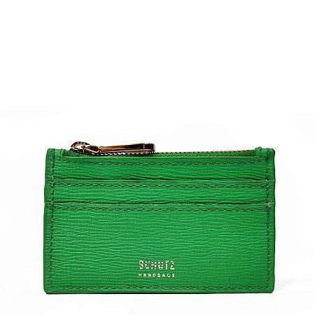 Porta Cartões Schutz Couro Verde - S4605801650019