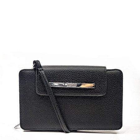 Bolsa Santa Lolla Clutch Carteira Preta - 0471317C008800AA