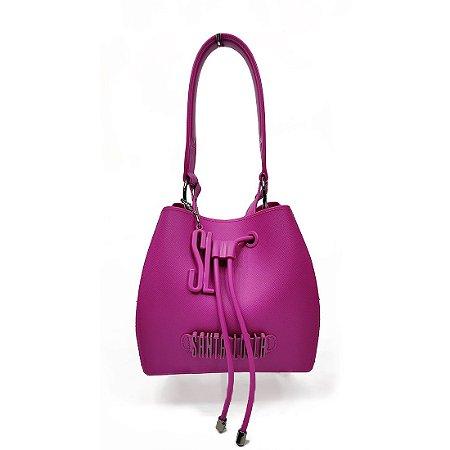 Bolsa Santa Lolla Plástica Saco Purpura - 0452338B00160318