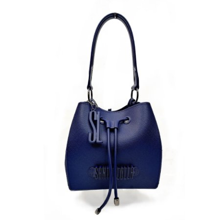 Bolsa Santa Lolla Plástica Saco Azul Marinho - 0452338B0016031C