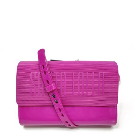 Bolsa Santa Lolla Plástica Retangular Purpura - 0470338C00160318