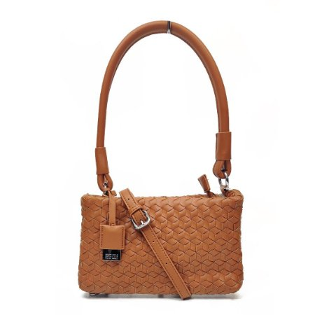 Bolsa Santa Lolla Tresse Retangular Camel - 04523157008900EC