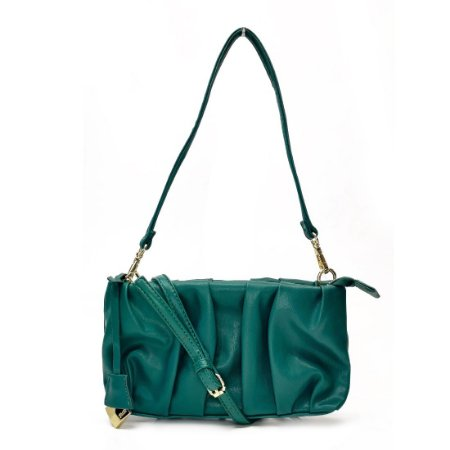 Bolsa Santa Lolla Baguete Verde Esmeralda - 045231FB00890038