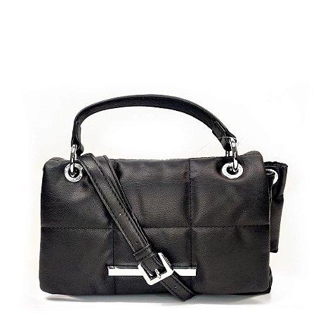 Bolsa Santa Lolla Nylon Matelasse Preta - 045231BD008900AA