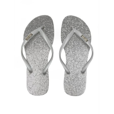Chinelo Santa Lolla Glitter Prata - 7003193301F40023