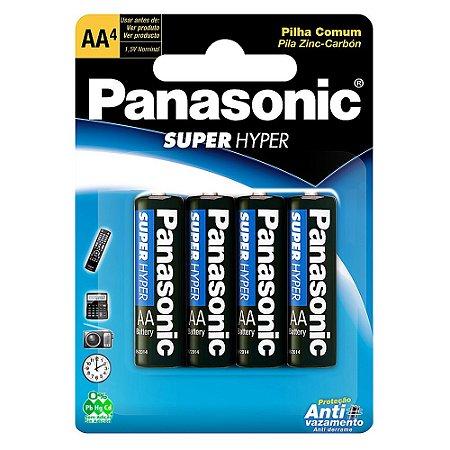 Pilha Comum Panasonic AA