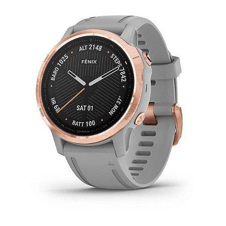 Relogio Smartwatch Garmin Fenix 6s Sapphire rose
