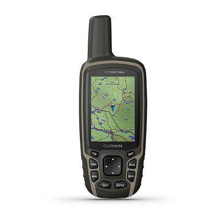 Gps Portátil Garmin Gpsmap 64sx GPS portátil com sensores de navegação
