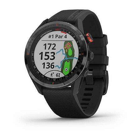 Garmin Approach S62 Gps Golfe Relógio Esportivo - Preto