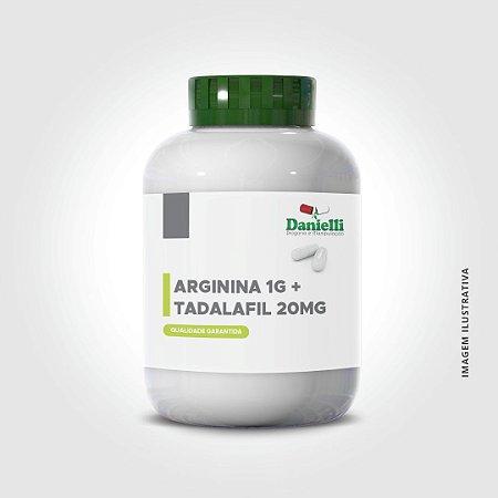 ARGININA 1G+ TADALAFILA 20MG