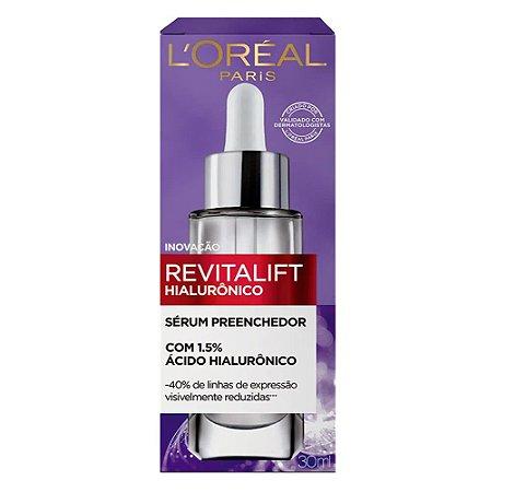 Serum Preenchedor Anti-idade L'Oréal Paris - Revitalift Hialurônico 30ml