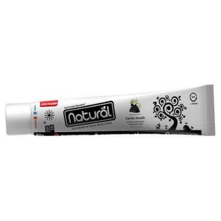 Gel Dental Extratos de Bambu, Romã e Sálvia 80g - Orgânico Natural