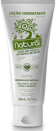 Loção Hidratante Óleo de Coco e Extrato de Romã 200mL - Natural