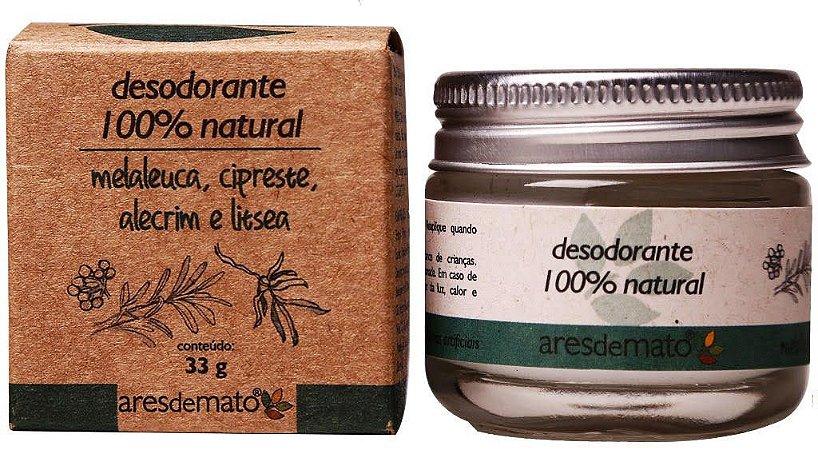 Desodorante Natural - Creme - 33g - Ares de Mato