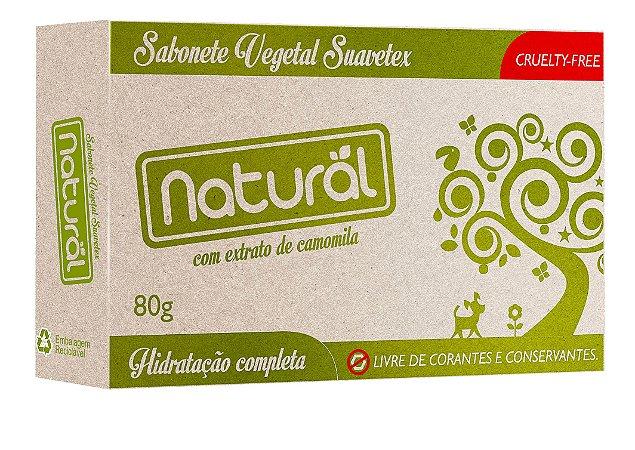 Sabonete em Barra com Extrato Orgânico de Camomila 80g - Natural
