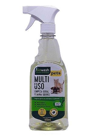 Pet - Multiuso Capim Limão 650mL - Biowash