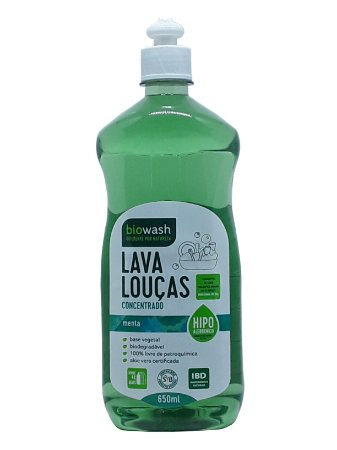 Lava Louças Menta 650mL - Biowash