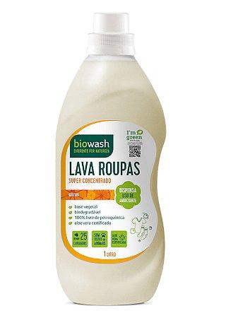 Lava Roupas Citrus 1L - Biowash