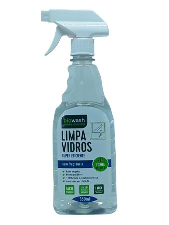 Limpa Vidro 650mL - Biowash