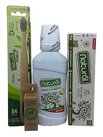 Kit Higiene Bucal - Natural
