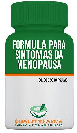 Formula para sintomas da menopausa