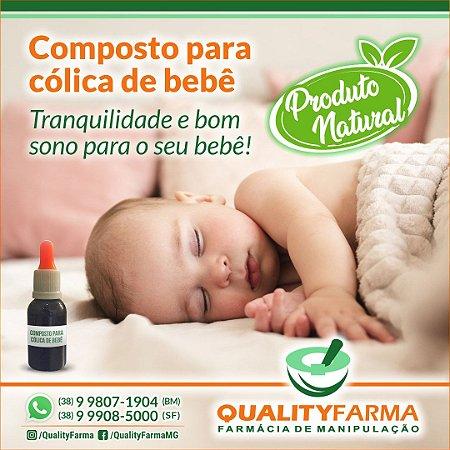 Composto para cólicas de bebê 30ml