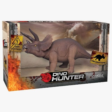 Brinquedo Triceratops 2 Peças Mielle Brinquedos
