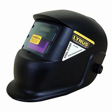 Máscara de Solda Automática DIN 11 MSL 3500 Lynus