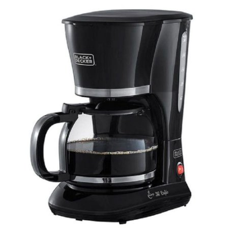 Cafeteira Elétrica Jarra de Vidro 750W CM301 Black+Decker