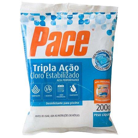 Pastilha Pace Tripla Ação Cloro Estabilizado 200g HTH