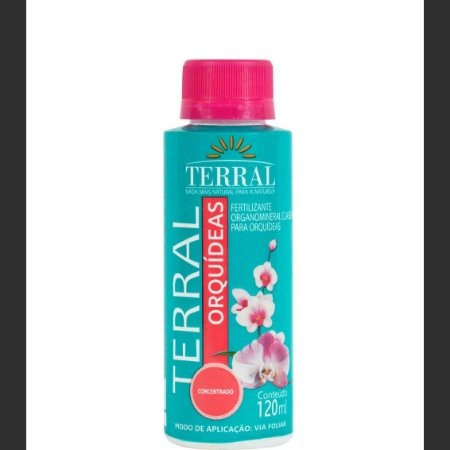 Fertilizante para Orquídeas Concentrado 120ml Terral
